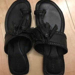 Topshop fleur leather sandals 8.5